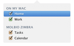 how to delete all events on calendar mac